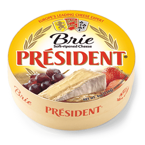 President Brie Round President Cheese