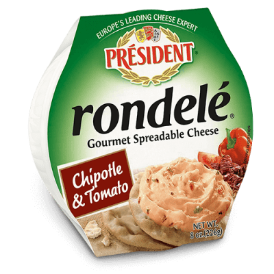 Rondelé® by Président® 8 oz Chipotle and Tomato