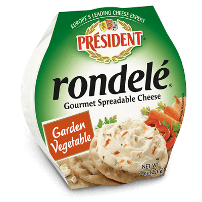 Rondelé® by Président® 8 oz Garden Vegetables