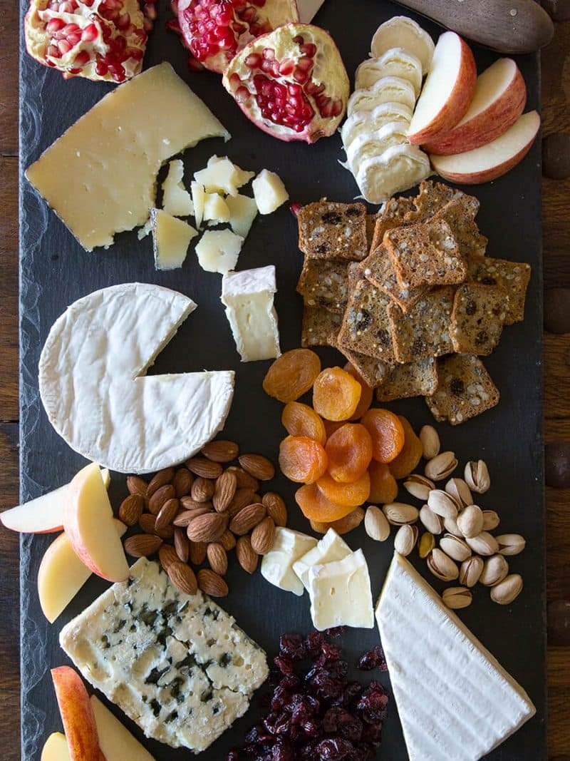 The key to crafting the perfect cheese plate is using a variety of cheeses with ranging textures. Jazz up the plate with dried or fresh fruits almonds ... & Ultimate Winter Cheese Plate | Brie Cheese Recipe | President Cheese