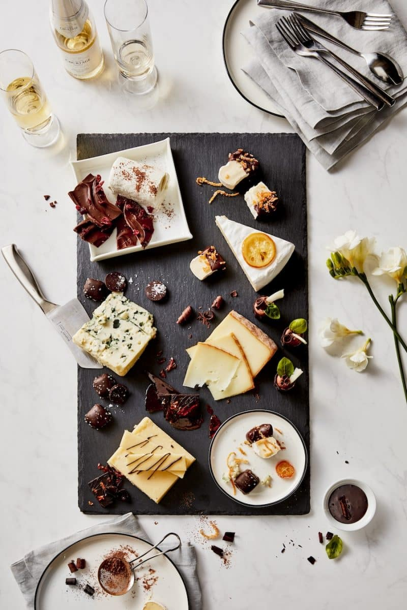 A long-time favorite in Europe the Dessert Cheese plate is an elegant way to finish the meal instead of a traditional dessert. & Dessert Cheese Plate | Président Cheese