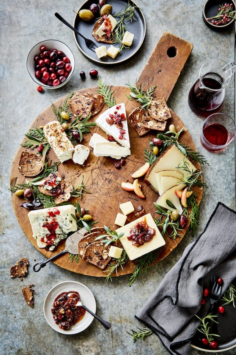 Holiday Cheese Plate. u0027 & Holiday Cheese Plate   Président Cheese