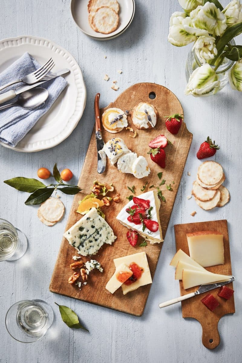 Spring Cheese Plate : fruit and cheese plate - Pezcame.Com