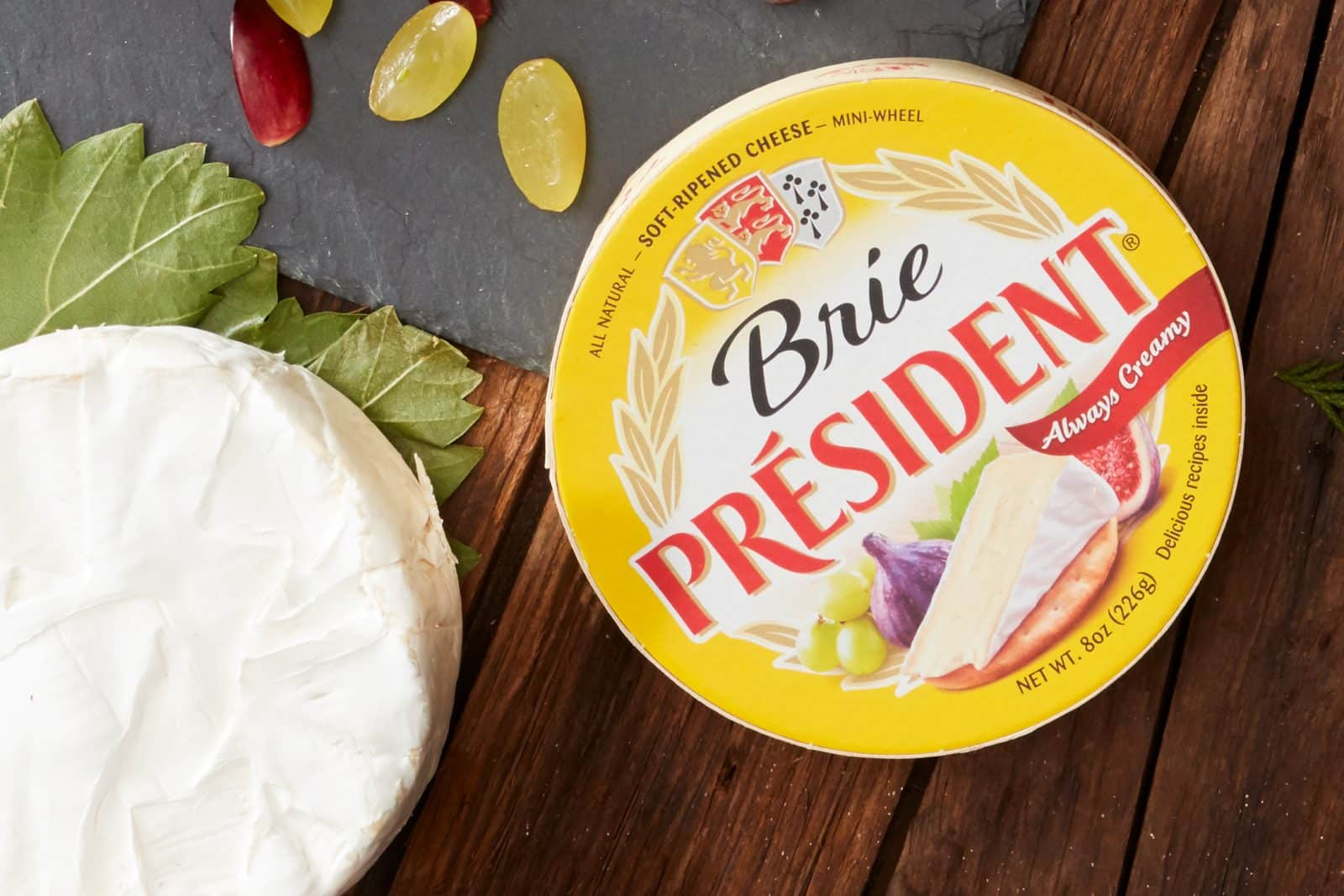 Can You Eat The Rind On Brie President